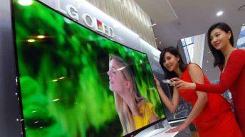 Първите в света извити OLED телевизори идват след 6 месеца и в България