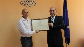 """Уолтопия"" ООД получи сертификат за инвеститор клас А в областта на високите технологии и иновациите"