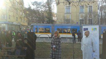 Два нови трамвая пътуват вече в столицата