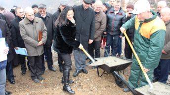 Вградиха капсула на времето при възобновяване на строителството на яз. Пловдивци