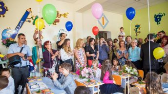 "Fibank подари нова учебна стая на първокласниците от 119 СОУ ""Академик Михаил Арнаудов"" в столицата"