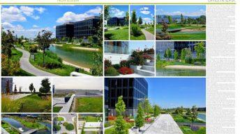Българска ландшафтна компания  спечели 3-то място на Eвропейските награди за градска зелена инфраструктура