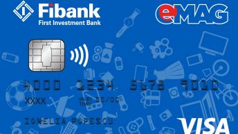Нов финансов продукт – кобрандирана Visa карта от Fibank и eMAG